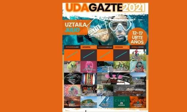 Udagazte: actividades en julio a partir de 12 años