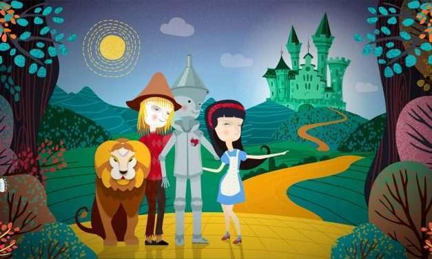 Escape room para familias ambientado en el mago de Oz