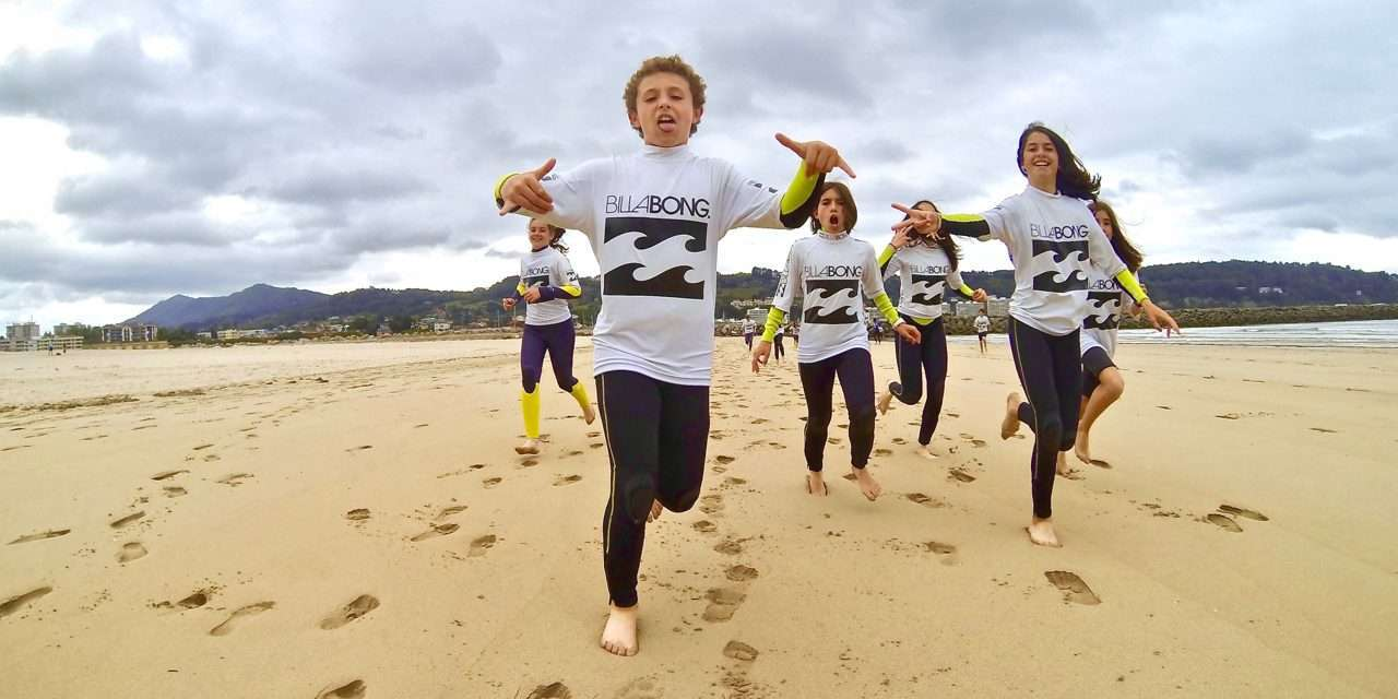 Surf teknika: cursillos de verano