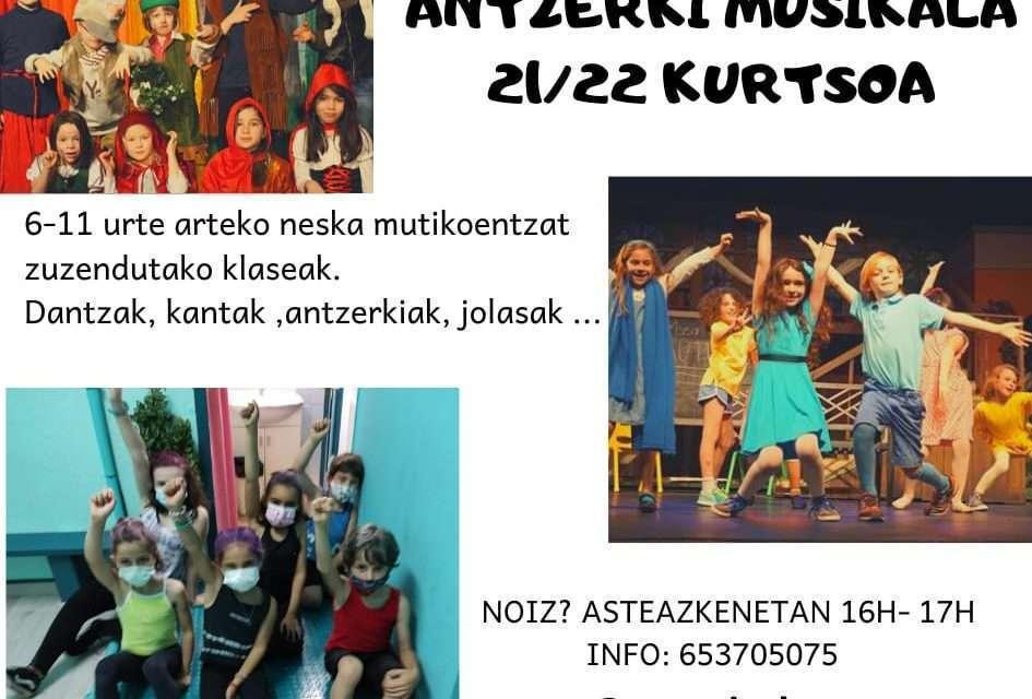 Teatro musical: curso 2021-22